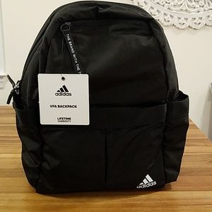 Adidas VFA backpack black and pink